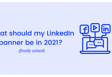 What should my LinkedIn banner be in 2021? Finally solved
